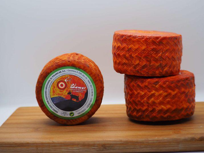 queso de cabra pimentón
