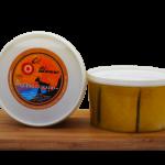 Queso de cabra curado en aceite de oliva